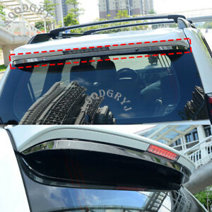 Stainless Rear Spoiler Trim Decor Strip For Toyota Land Cruiser Prado 150 10 19