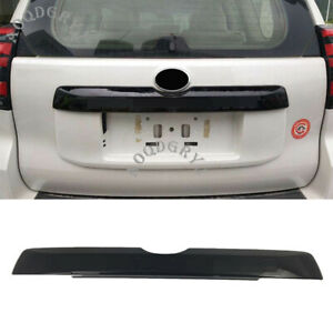Trunk Cover Tail Door Moulding Lid Trim 18 19 For Toyota Landcruiser Prado Black