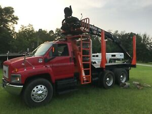 2008 Gmc C8500 Grapple Truck Excellent Condition