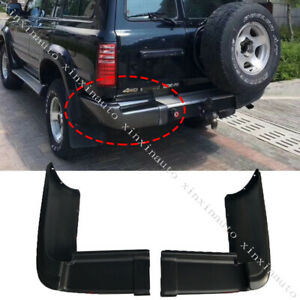 For 91 97 Toyota Land Cruiser Lc80 Rear Bumper Protection Pedal Corner Cover 1pc
