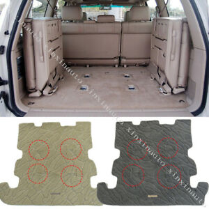 For 2002 2007 Toyota Land Cruiser Lc100 Trunk Floor Mat Carpet Protection Cover