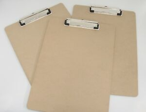 Legal Size Clipboards Lot Of 3 Hardboard 9 X 12 5 Hanger For Wall Mounting