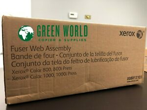 Oem Xerox Color Press 800 1000 Fuser Web Assembly 8r13103