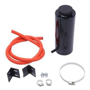 Black 800ml Universal Radiator Coolant Aluminum Catch Tank Overflow Reservoir