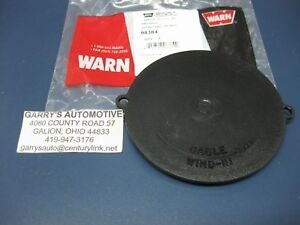 Warn 98384 7582 Winch End Cap Cover Plate Replacement Part 8274 M8274 Plastic