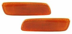 Fits Lexus Is300 Gs300 Ls400 Xa Prius Front Side Marker Lights Lamps Pair