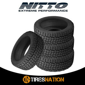 4 New Nitto Terra Grappler G2 285 70 17 116t All Terrain Tire