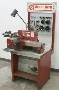 Accuturn 8989 Heavy Duty Disc Drum Brake Lathe W Stand Tooling Accessories