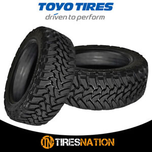 2 New Toyo Open Country M t 35x12 50r17 10 125q All Terrain Mud Tires