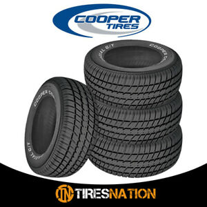 4 New Cooper Radial G T P235 60r15 98t Tires