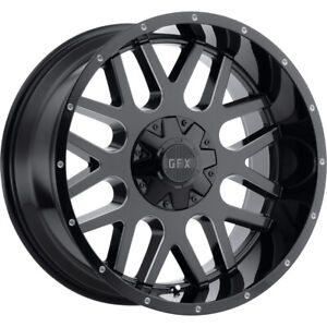4 20x10 Black Milled Tr Mesh 4 6x135 6x5 5 24 Rims Terra Grappler G2 Tires