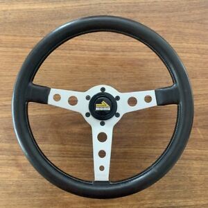 Momo Prototipo Steering Wheel 350mm Size Dished Porsche 911 964 944 St Rs