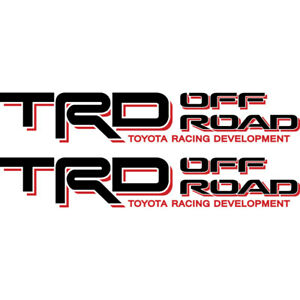 Toyota Trd Off Road 4x4 Tacoma Tundra Sticker Decal 01