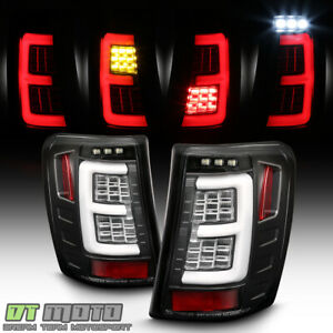 Upgrade W Full Led Black 1999 2004 Jeep Grand Cherokee Tail Lights Brake Lamps