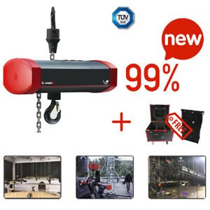 Electric Chain Hoist Motor 1ton 220v 3phase 13fpm 82ft With Chain Bag Mode