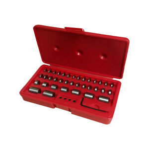 36 Pc Steel Round Gage Space Harden Block Blocks Gauge Set Id Thread M6