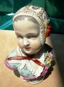 Antique French Porcelain Figurine Napoleon Ii The King Of Rome