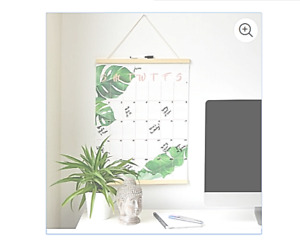Hanging Monthly Planner Dry Erase Wall Calendar Art Tapestry
