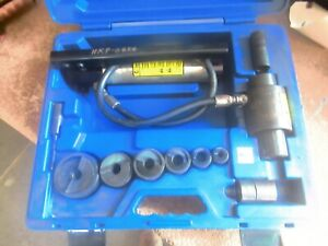 Current Tools 152pm 1 2 2 Piece Maker Hydraulic Knockout Set