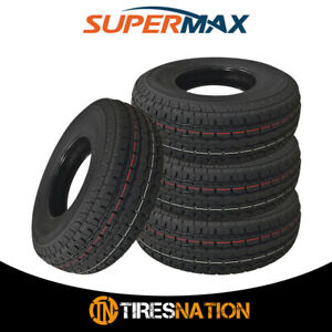 4 New Supermax Stm 1 St235 80r16 10 All Season Trailer Tires
