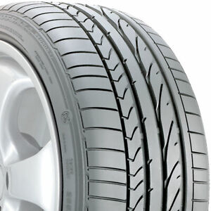 1 New 255 40 17 Bridgestone Potenza Re050a Run Flat 40r R17 Tire 25429