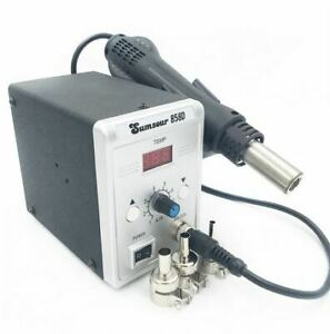 New Hot Air Gun 858d Desoldering Soldering Rework Smd Solder Station 110v 220v