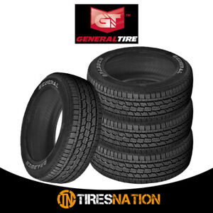 4 New General Grabber Hts 235 75r15 105t Tires