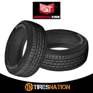 2 New General Grabber Hts 235 75r15 105t Tires