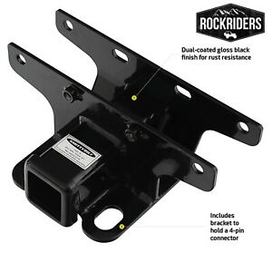 Smittybilt Factory Style 2 Receiver Hitch For 2018 2020 Jeep Wrangler Jl Jlu