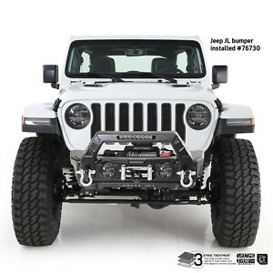 Smittybilt 76730 Stryker Front Bumper For 2007 2020 Jeep Wrangler Jl And Jk