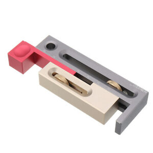 Table Saw Slot Adjuster Mortise And Tenon Tool Movable Measuring Block Tenonmake