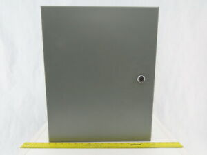 Wiegmann Nic162006lp Wall Mount 20x16x7 Electrical Enclosure W back Plate Jic