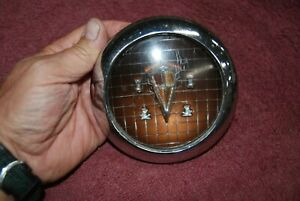 1951 52 53 Hudson Hornet Steering Wheel Horn Button Good Original