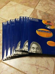 Lot Of 160 Total Hp Cd Covers And Cd Inlay Free Shipping Hewlett Packard