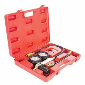100psi Car Leakage Detector Auto Petrol Engine Cylinder Leak Leakdown Tester Kit