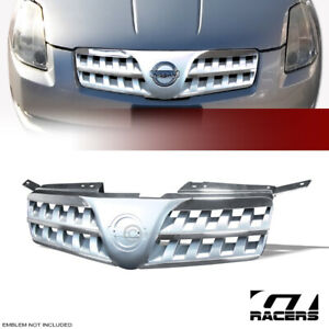 For 2004 2006 Nissan Maxima Chrome silver Front Hood Bumper Grill Grille Guard