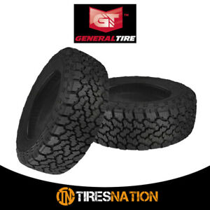 2 New General Grabber A tx Lt235 75r15 6 104 101s Tires