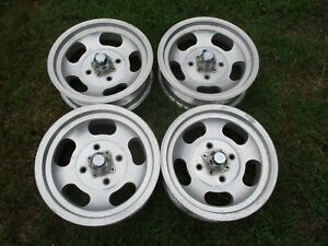 15 X 4 5 Us Indy Slotted Mag Wheels Old School 4x130mm Volkswagen Bug Slot