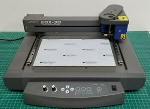 Used Roland Egx 30 Engraving Machine Desktop Rotary Engraver
