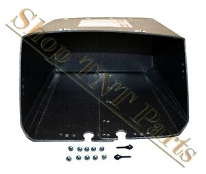 1952 1953 Ford Full Size Glove Box Liner With Screws Bumpers