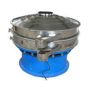 47 Heavy Duty Vibrating Sieve Machine For Podwer Shaking Vortex Shaker 220v