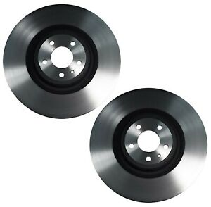 Brembo Pair Set Of 2 Front Pvt Coated 380mm Disc Brake Rotors For Ford Mustang