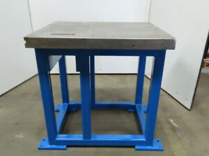 40 X 33 X 3 Thick Heavy Construction Machine Base Work Fabrication Bench