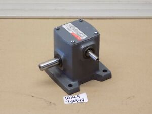New Boston Gear Reducer 309b 40 g Input Hp 0 07 Ratio 40 1