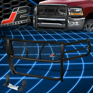 J2 Engineering For 10 19 Ram Truck 2500 3500 Front Bumper Grille Brush Guard