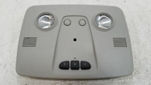 2011 Ford Escape Gray Overhead Roof Console W Homelink Oem Lkq