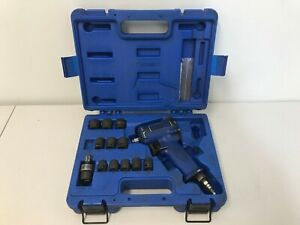 Cornwell Cattpb17 3 8 Impact Wrench With 13 Piece Socket Set Metric