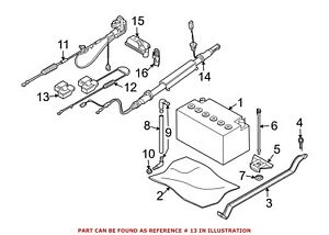For Bmw Genuine Battery Terminal Protector 61136931519