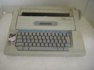 Smith Corona Word Processor Typewriter Na3hh Lcd Display Dictionary Electronic