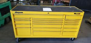 Snapon Snap On Kra2418 Triple Bank Speed Yellow Tool Box